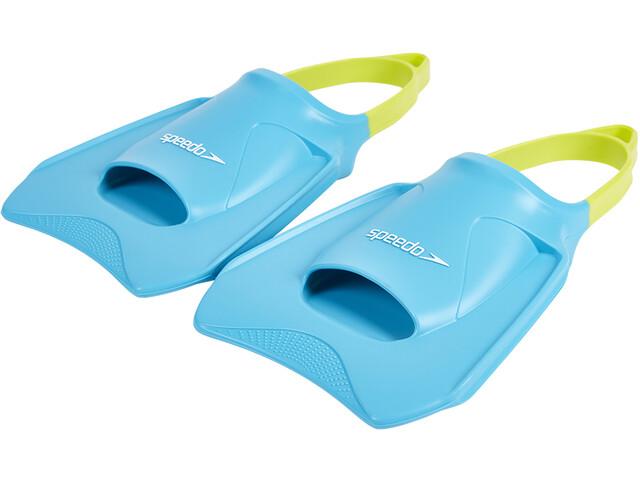 speedo Biofuse Fitness Fins Unisex, turquoise/lime/ultramarine